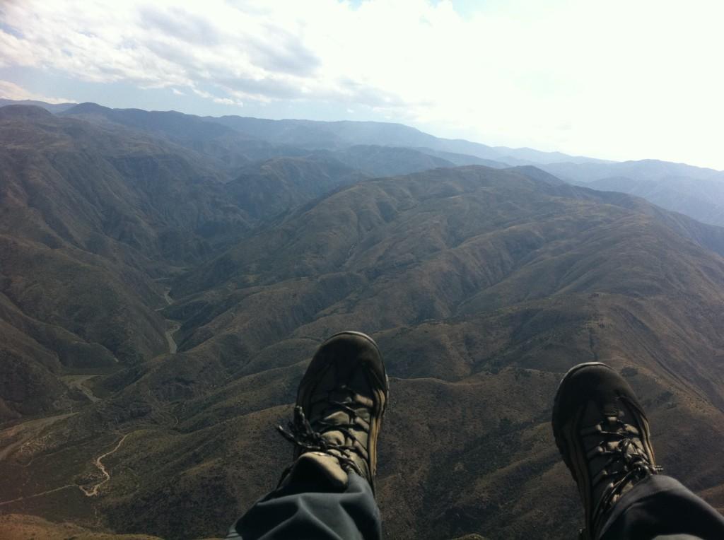 Paragliding, The Andes, Mendoza
