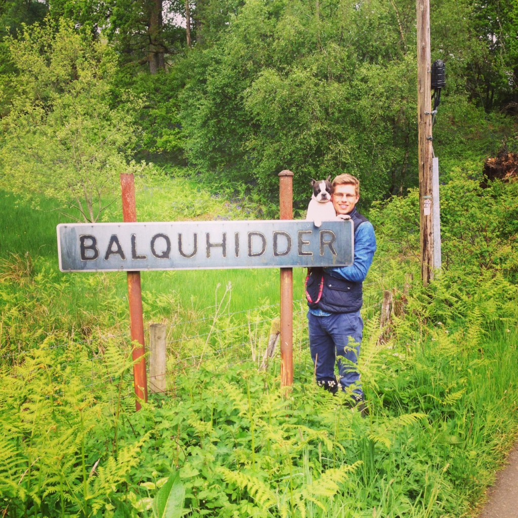 Balquhidder sign