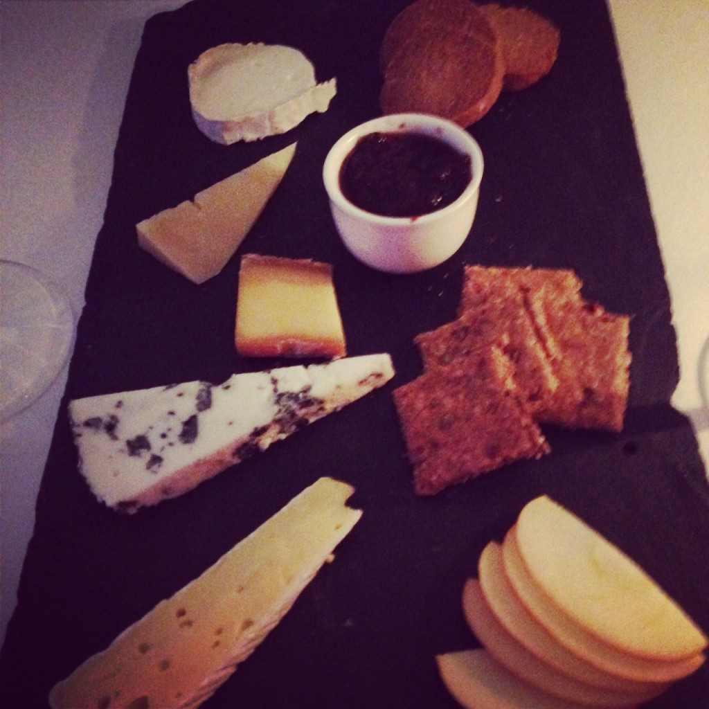 Monachyle Mhor cheese board