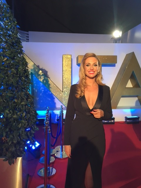 Josie Gibson at NTA Awards