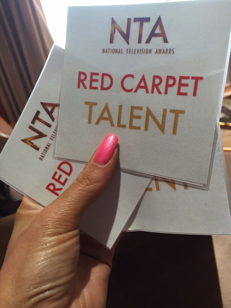 NTA Awards Red Carpet Passes