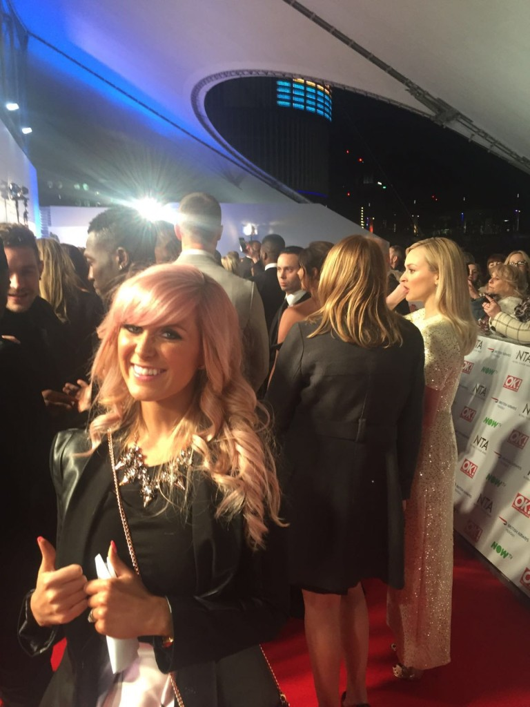 NTA Awards Red Carpet Fearne Cotton