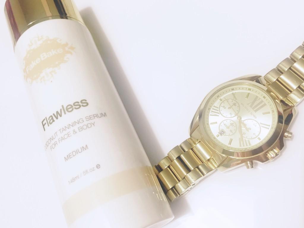 Flawless Coconut Tanning serum