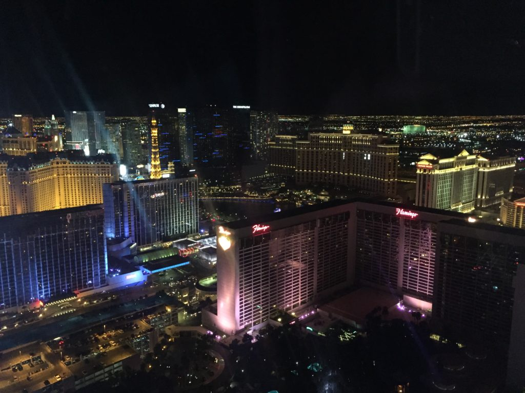 View from The High Roller Las Vegas