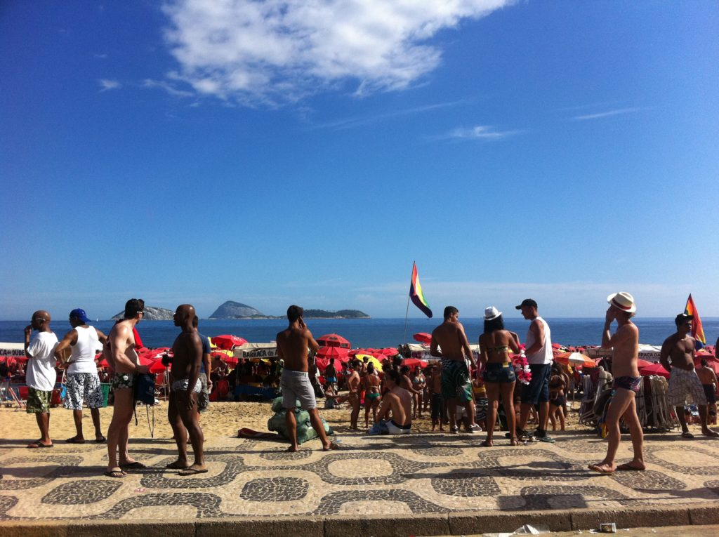 Watch your valuables at the Copacabana