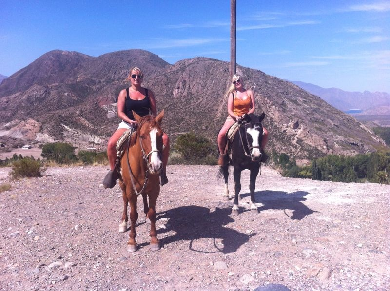 Horseriding in Andes