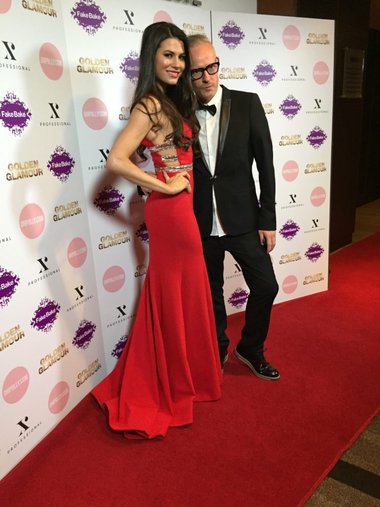 Miss UK & James Harknett, Fake Bake's Global Creative Consultant