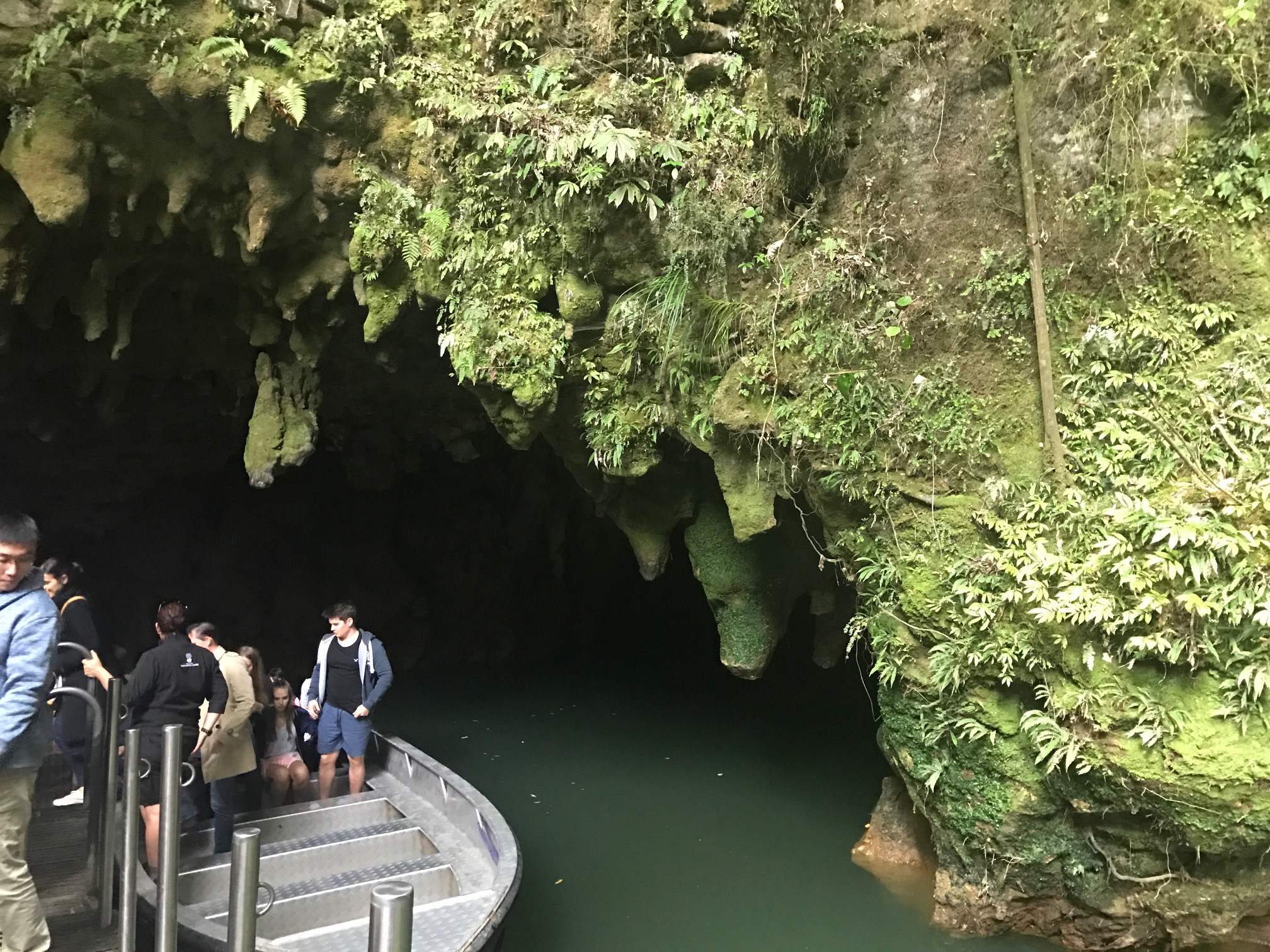 Leaving Waitomo Caves