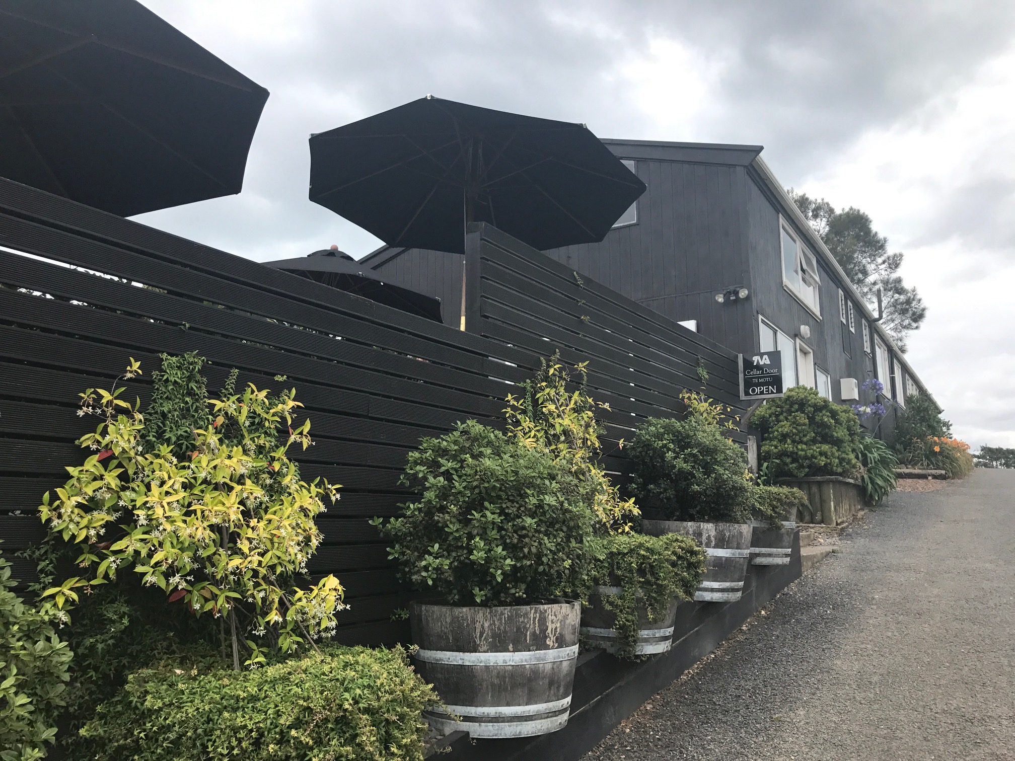 The Shed Restaurant at Te Motu Vineyard on Waiheke Island