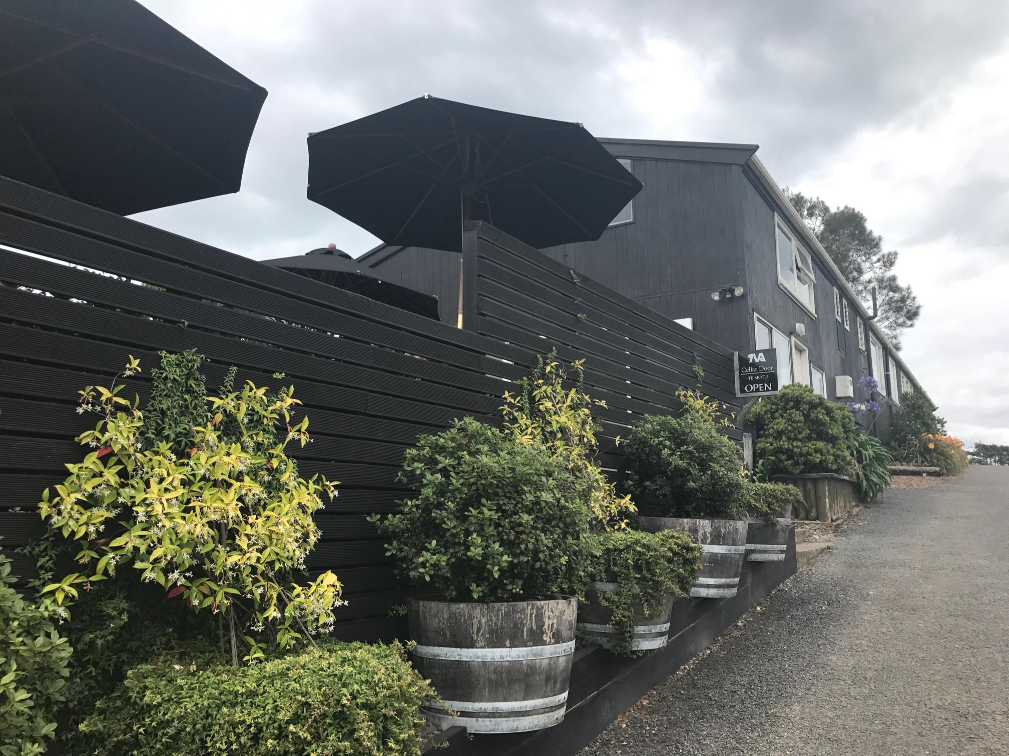 The Shed Restaurant at Te Motu Vineyard on Waiheke Island