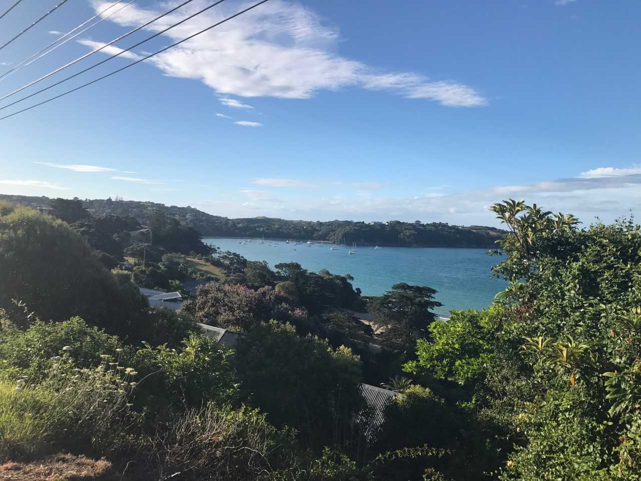 Stunning view on Waiheke Island