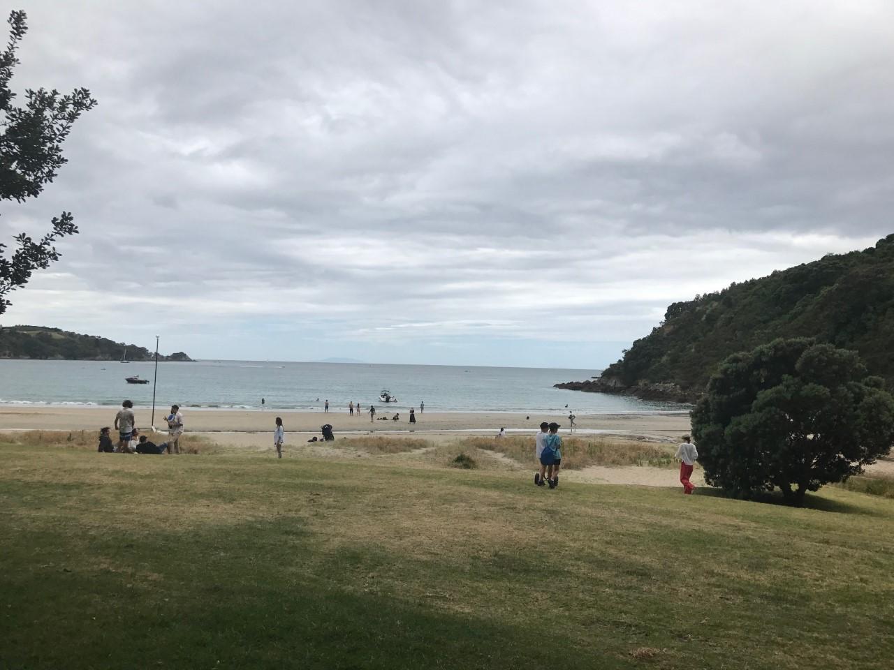 Little Oneroa Beach on Waiheke Island