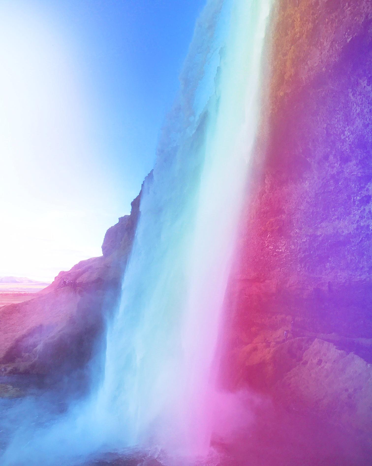 Seljalandfoss Waterfall, Southern Iceland