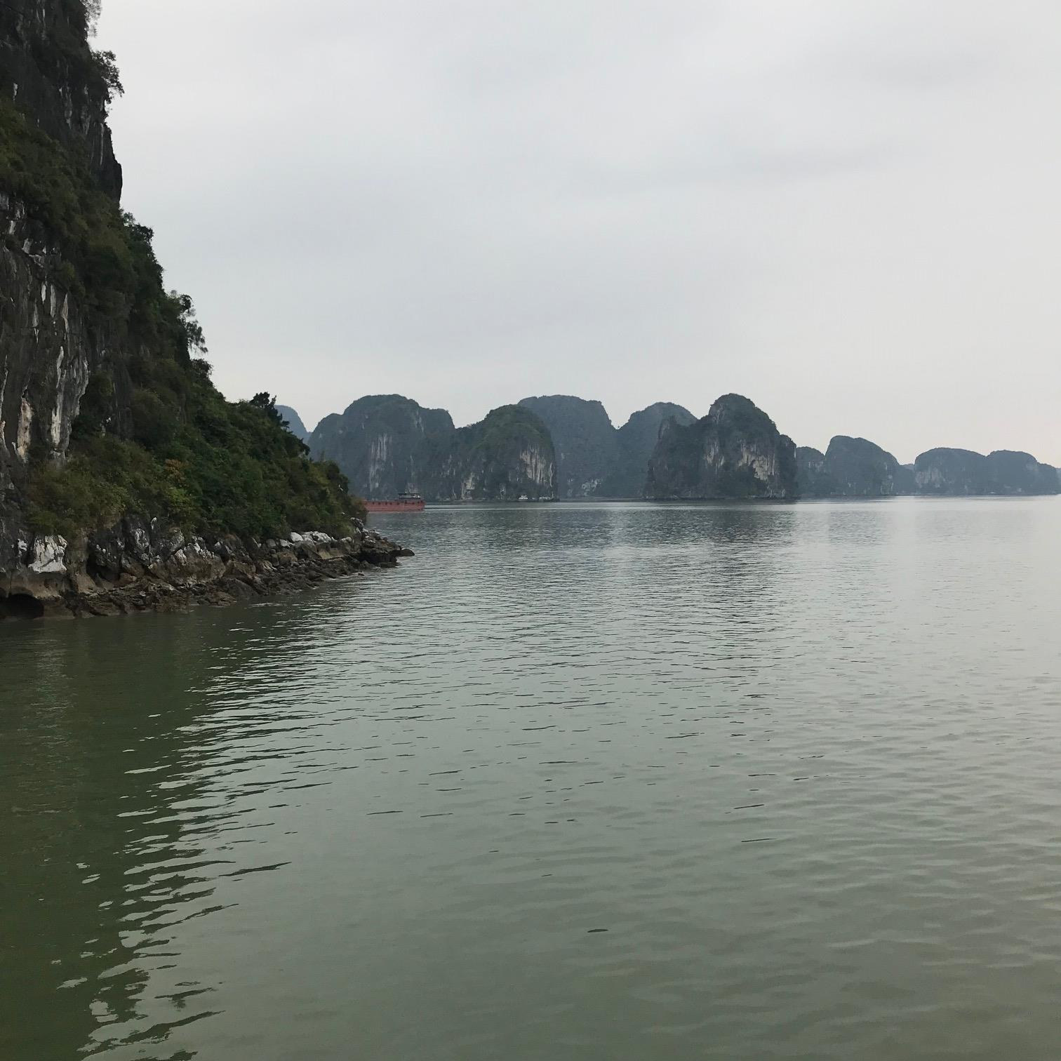 Cruising Halong Bay in Vietnam aboard the Au Co 2