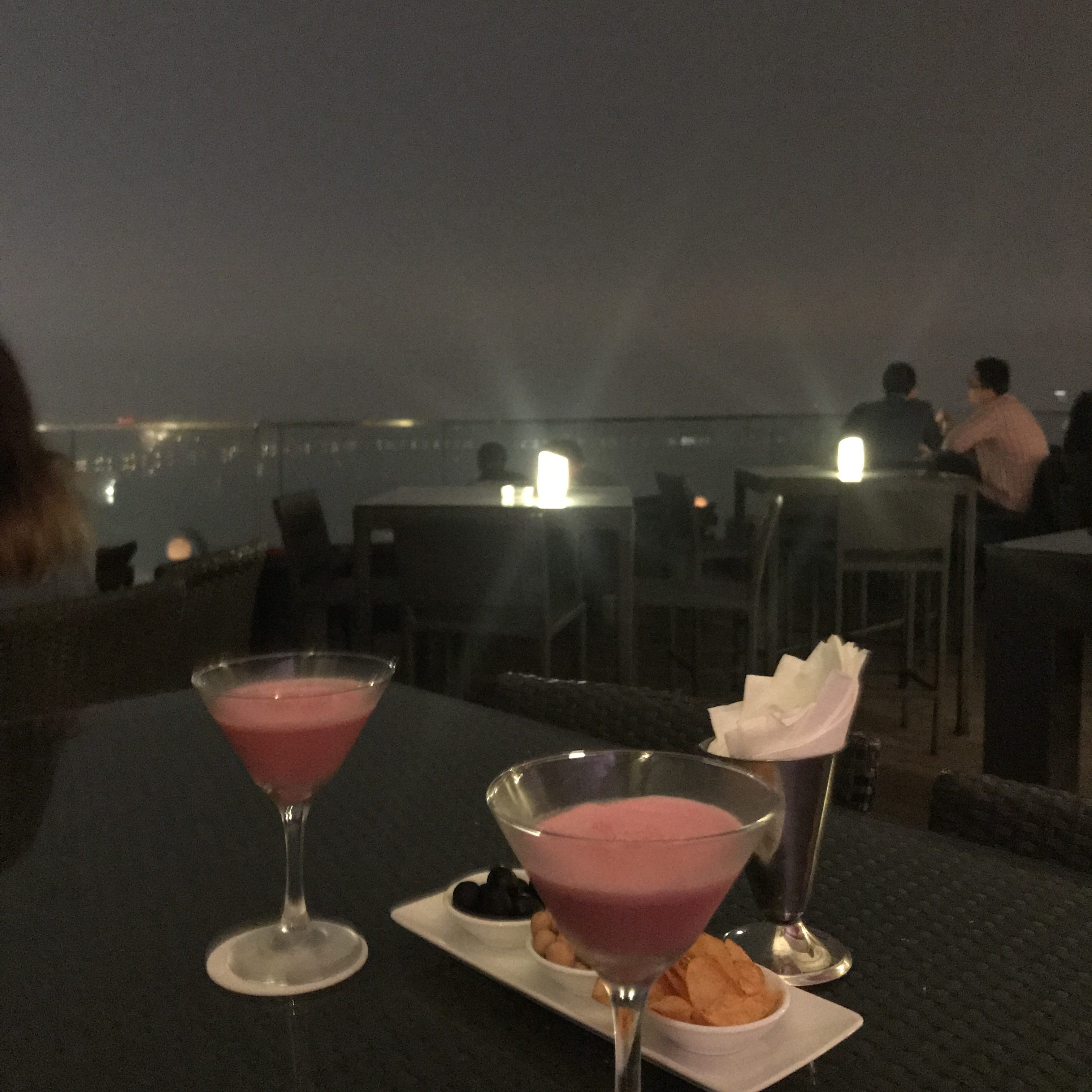 Drinks at The Summit at the Pan Pacific Hanoi