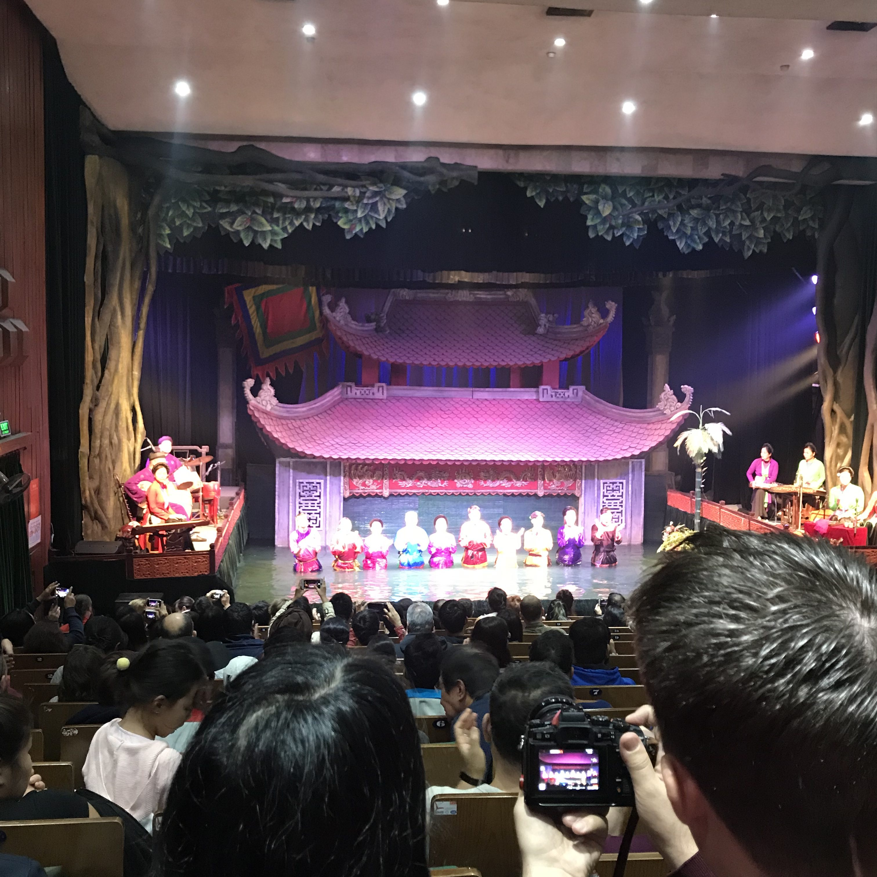 The Water Puppet Show Hanoi